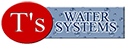 T's Water Systems - Over 30 years experience of supplying quality water treatment to thousands of domestic and commercial customers across Alberta.